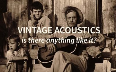 Vintage acoustics, is there anything like it?