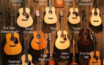 De groeiende populariteit van de kleinere gitaar